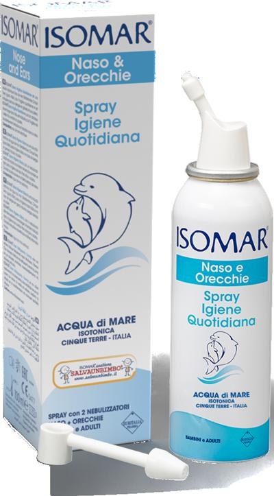 Isomar Naso e Orecchie Spray Igiene Quotidiana 100 ml