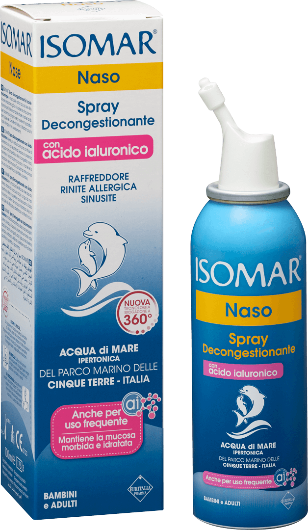 Spray Decongestionante con Acido Ialuronico