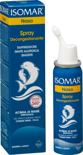 Isomar Naso Spray Decongestionante 50ml
